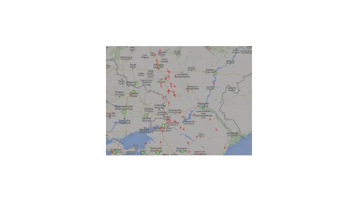 Ukrajinci uzatvorili vzdušný priestor nad konfliktnou zónou