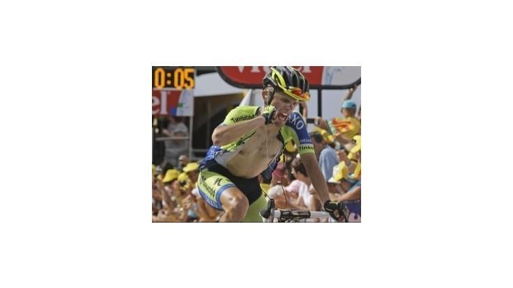 Sagan a Nibali navýšili náskoky, víťazstvo Majku
