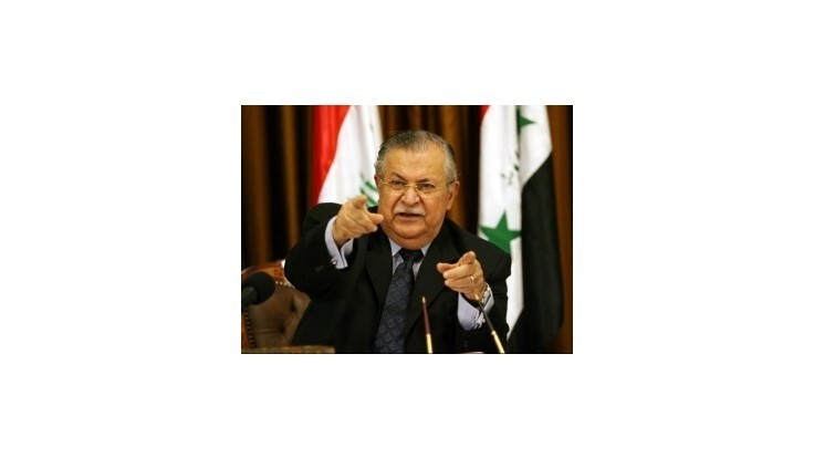 Iracký prezident Talabání sa vrátil do vlasti po jeden a pol roku