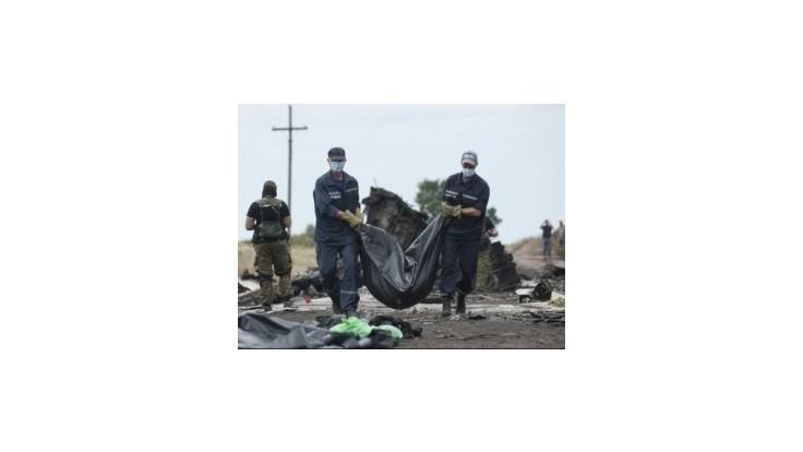 Na mieste havárie malajzijského boeingu sa našlo 251 tiel