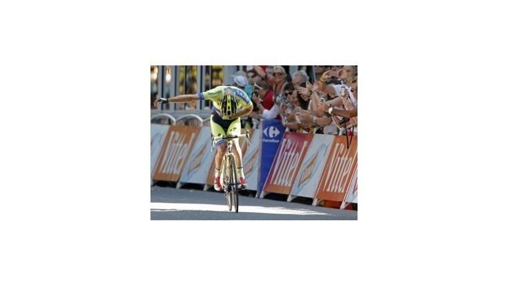 Pyrenejský predkrm vyhral Rogers, Nibali stále v žltom
