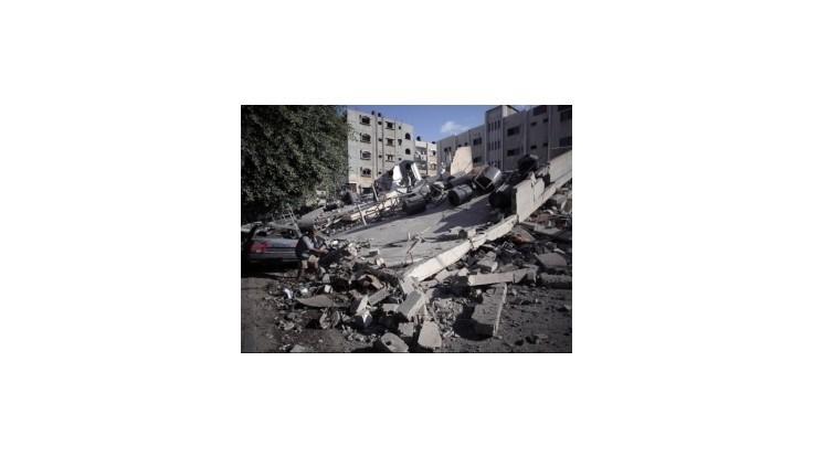 Izrael útočil na dom lídra Hamasu, zahynulo už vyše 810 Palestínčanov