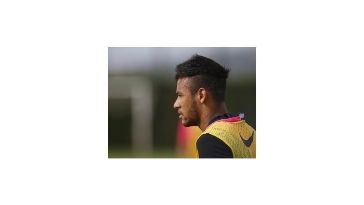 Neymar dostal od lekárov zelenú