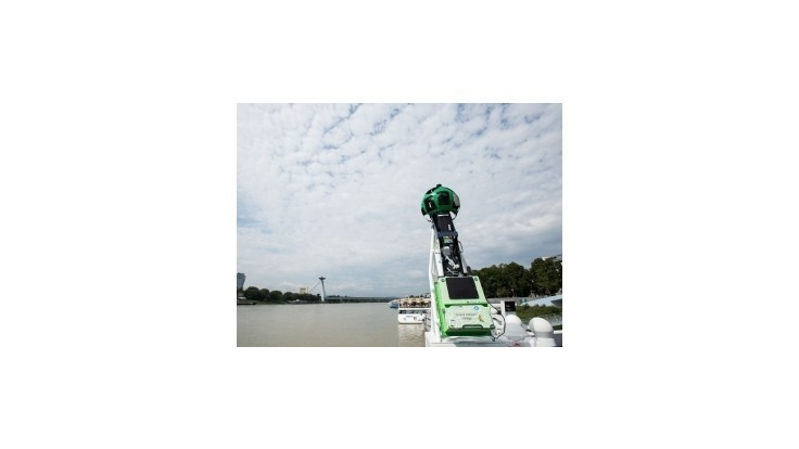 Google zmapuje slovenský úsek Dunaja