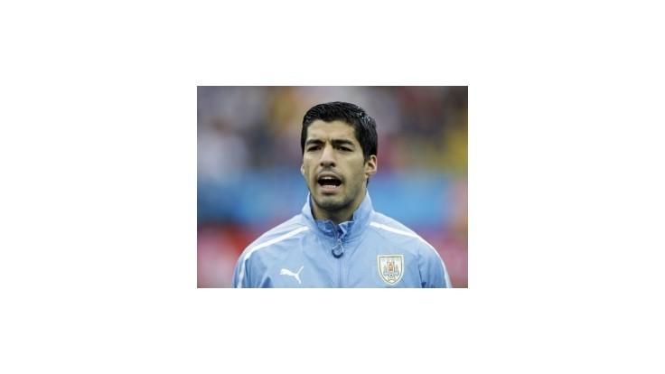Suárez chýba v nominácii Uruguaja na prípravné duely