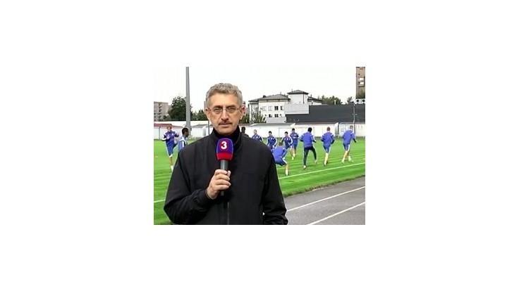 Slovanistov očarila Arena Borisov, ale trénovali na starom štadióne
