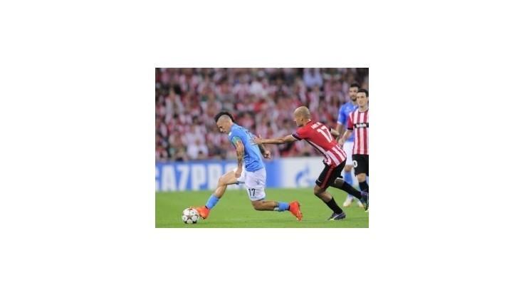 Neapolu nestačil gól Hamšíka, v odvete podľahol Athleticu