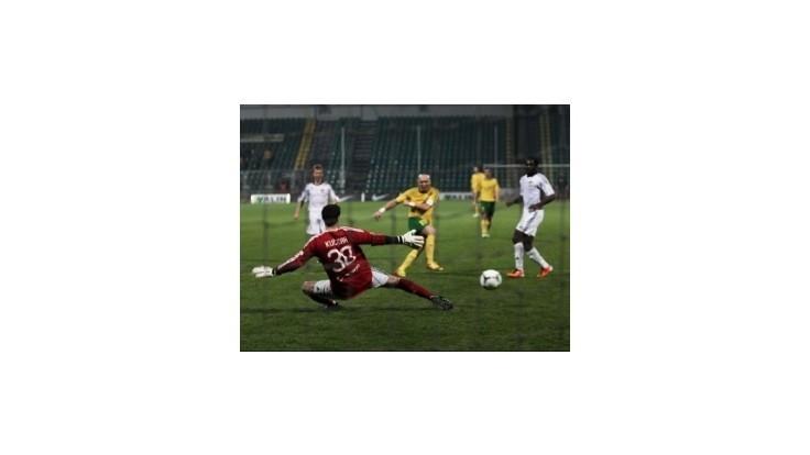 Futbalisti Dunajskej Stredy a Žiliny sa rozišli zmierlivo po výsledku 2:2