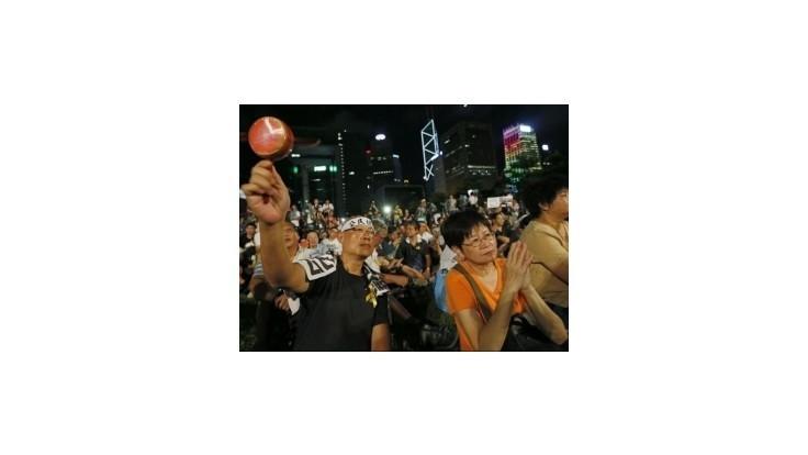 Tisíce obyvateľov Hongkongu demonštrujú za slobodné voľby