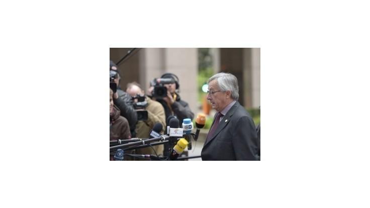 Juncker začal rozhovory s kandidátmi na eurokomisárov