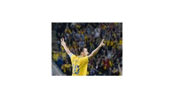 Ibrahimovič odohral v Rakúsku stý zápas za Švédsko