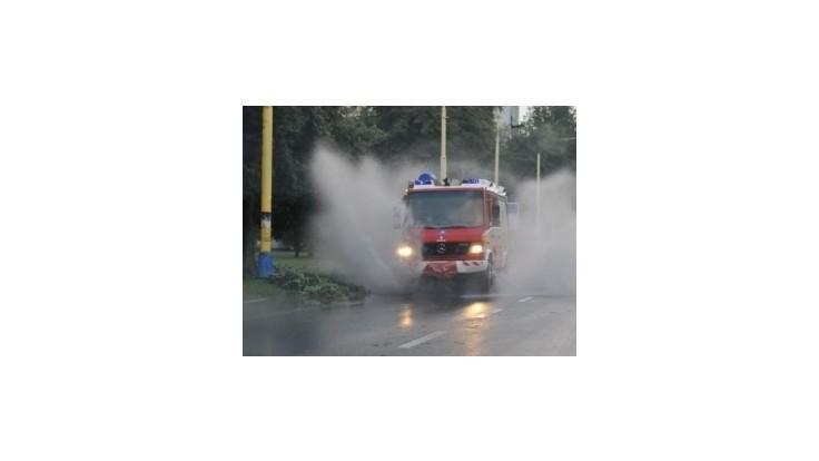 Dážď vzbudzuje obavy najmä v obciach na Záhorí