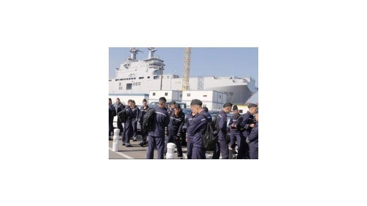 Loď Mistral, na ktorú čaká Rusko, vyplávala na more