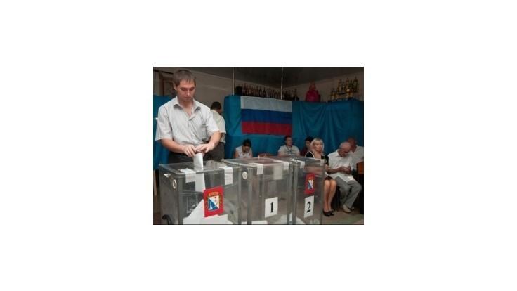 Krym hlasoval v regionálnych voľbách za vládnu stranu Jednotné Rusko