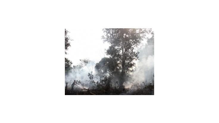 Umelý dážď znížil počet lesných požiarov v Indonézii