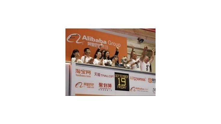 Vstup čínskej firmy Alibaba na burzu bol rekordný