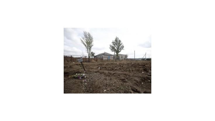 Neďaleko Donecka objavili masový hrob