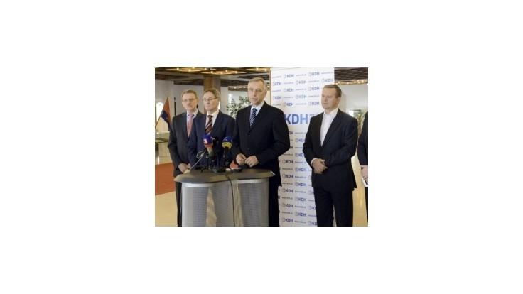 Rada KDH bude riešiť komunálne voľby, nového šéfa klubu aj podpredsedu