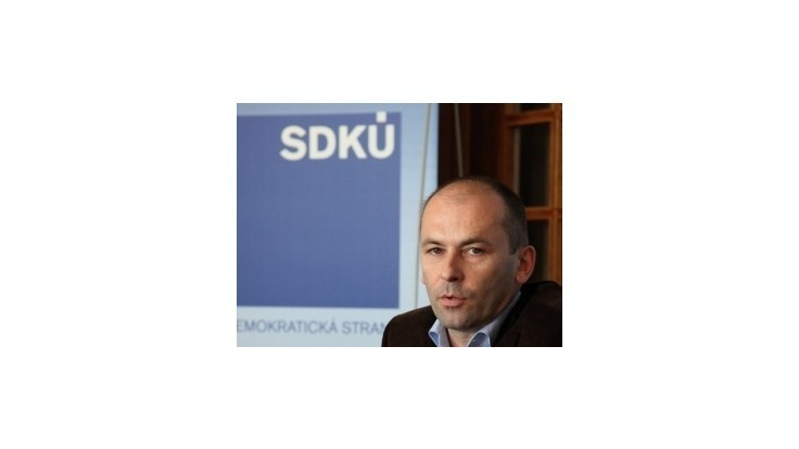 Kaník začína oslovovať ľudí do nového tímu SDKÚ-DS