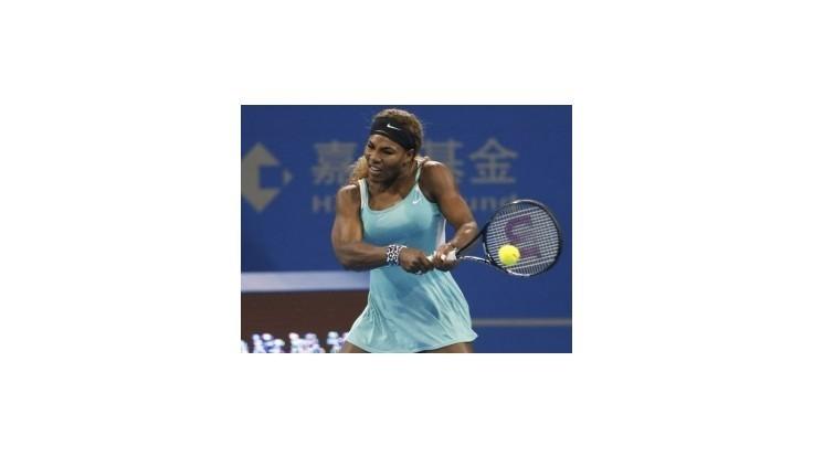 S. Williamsová skončila v Pekingu pre problémy s kolenom
