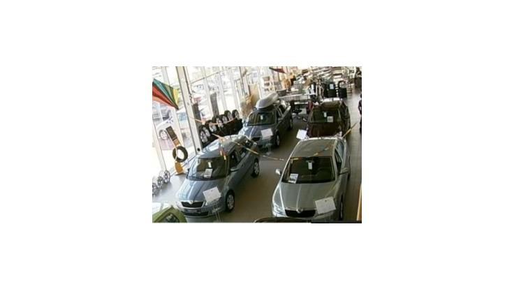 Tržby v predaji motorových vozidiel v auguste medziročne stúpli