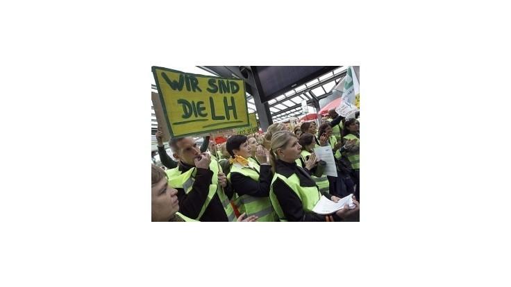 Piloti spoločnosti Lufthansa budú opäť štrajkovať