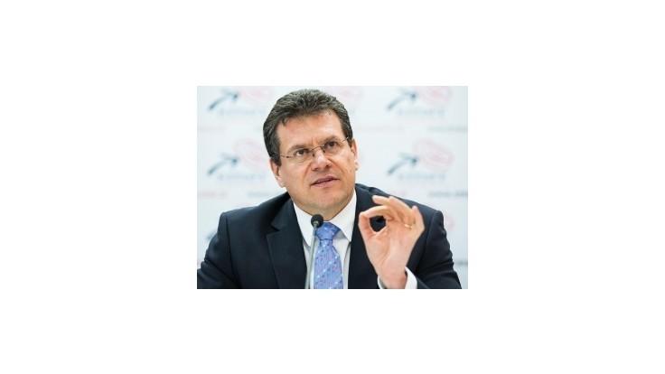Odmietnutie Bratušekovej môže posunúť Šefčoviča na podpredsednícky post v EK