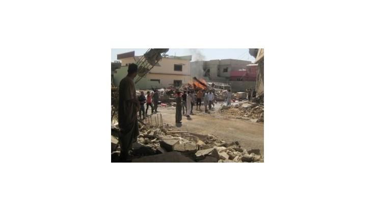 Pri výbuchoch v Bagdade zomreli desiatky ľudí