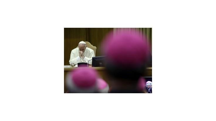 Synoda vo Vatikáne signalizuje miernejší postoj k homosexualite