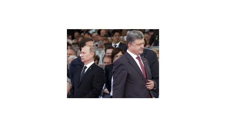 Putin hodnotí stretnutie s Porošenkom ako pozitívne