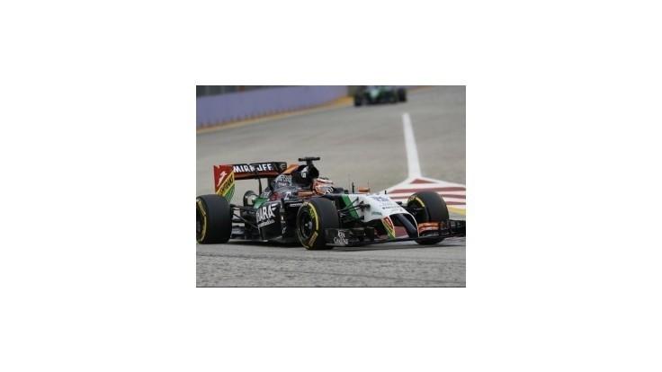 Hülkenberg bude jazdiť za Force India aj v budúcej sezóne