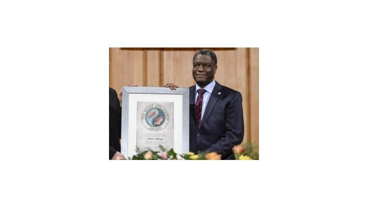 Sacharovovu cenu udelili gynekológovi z Konga