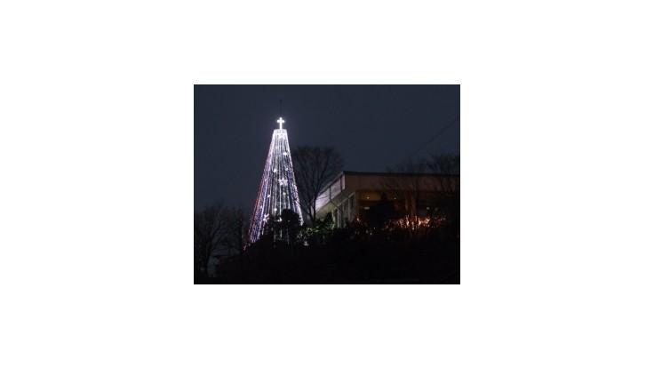 Južná Kórea odstránila z pohraničia kontroverzný vianočný stromček