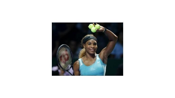 Serena zvalcovala Bouchardovú a zrejme ukončí rok ako jednotka