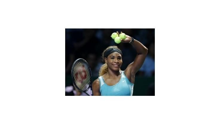 Serena Williamsová vyzve vo finále MS WTA Tour Rumunku Halepovú