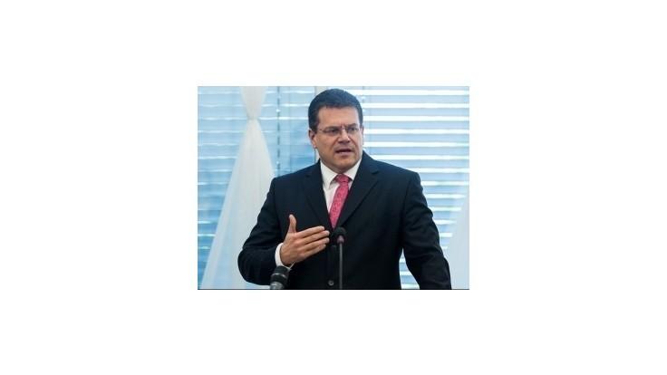 Ďalšie rokovania o ruskom plyne Ukrajine povedie slovenský eurokomisár Šefčovič