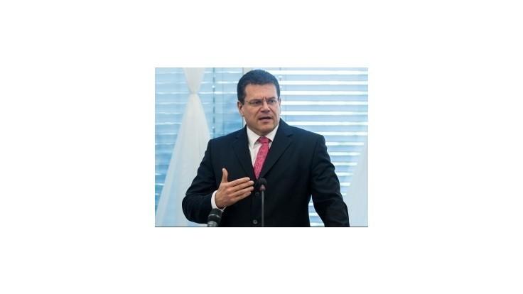 Scenár plynovej krízy z roku 2009 nehrozí, tvrdí Šefčovič