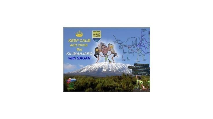 Peter Sagan pokoril Kilimandžáro