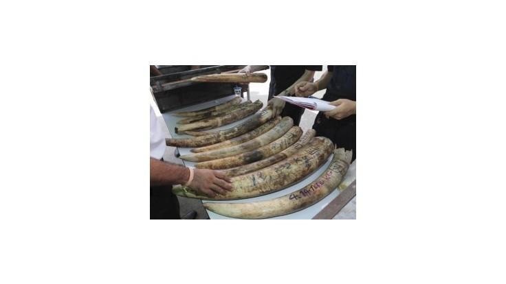 Čínsky prezidentský špeciál využili diplomati na pašovanie slonoviny