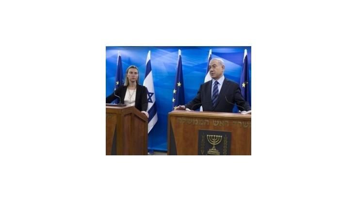Mogheriniová: Hrozí nová eskalácia napätia medzi Izraelčanmi a Palestínčanmi