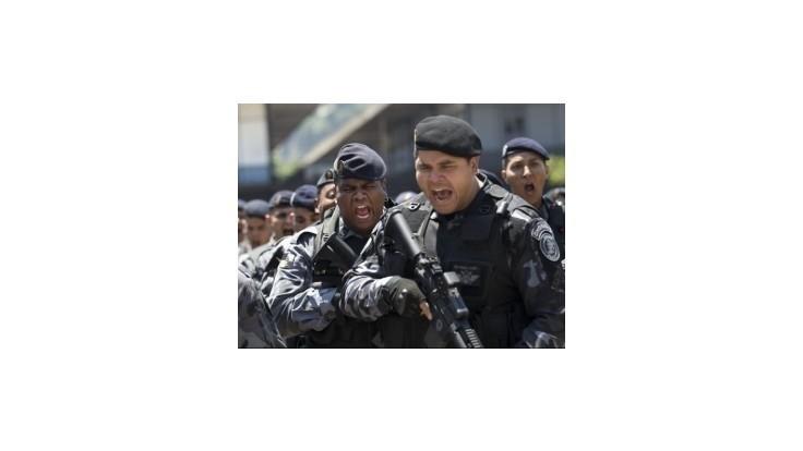 Brazílska polícia zabije v priemere šesť ľudí denne