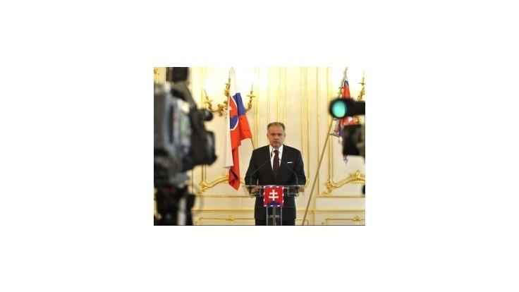 Prezident Kiska prezradil, ako bude hlasovať v referende o rodine