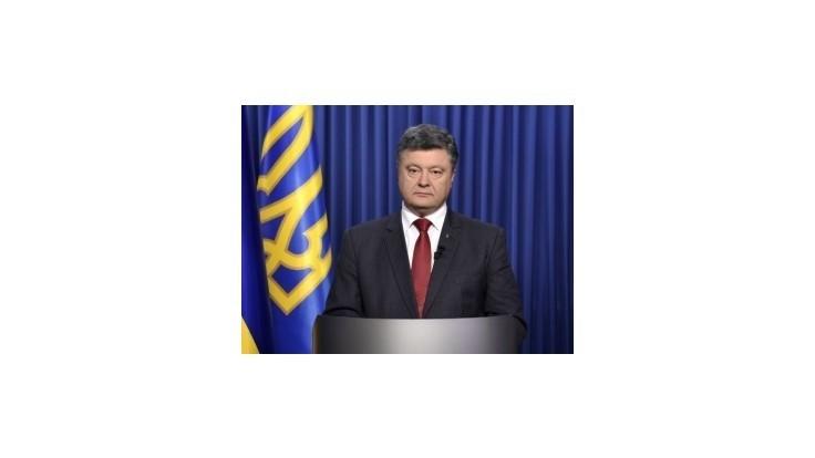 Porošenko bude s lídrami V4 rokovať o kríze na Ukrajine i dodávkach plynu