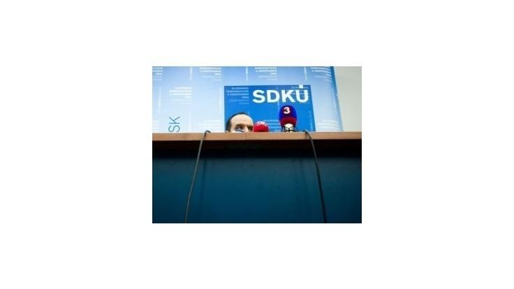 V SDKÚ-DS hrozia údajne ďalšie odchody