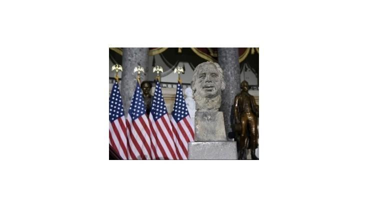 V americkom Kongrese odhalili bustu posledného československého prezidenta