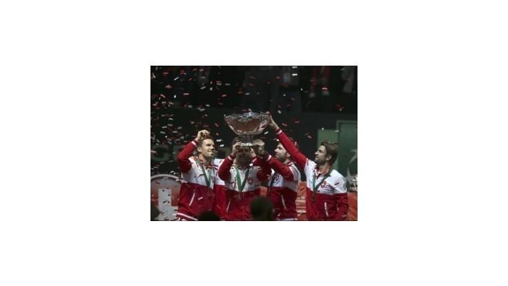 Švajčiari vyhrali Davisov pohár, rozhodol Federer