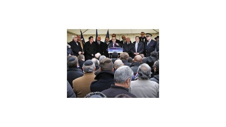 Antisemitské hrozby sa vo Francúzsku tento rok zdvojnásobili