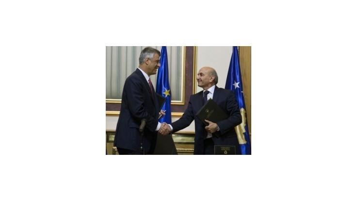 Hlavné kosovské strany podpísali dohodu o koaličnej vláde