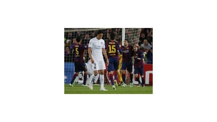 Do osemfinále LM aj Manchester City a Schalke, Barca zdolala PSG