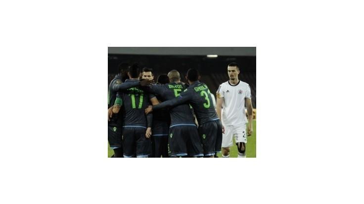 Slovan v I-skupine bez bodu, v derniére prehral s Neapolom